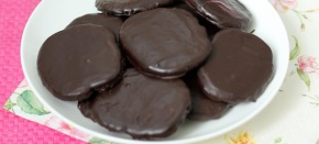 Ментови шоколадови бисквитки